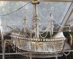 crystal ship chandelier. Just like the one at the Laos wedding reception!