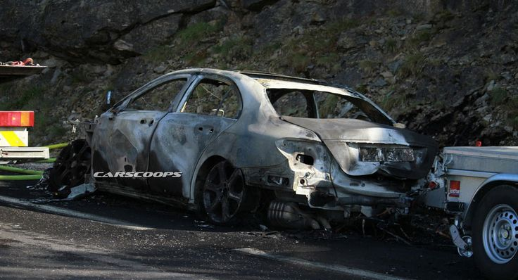 Extra Crispy: Mercedes E350e PHEV Burns To The Ground During Testing