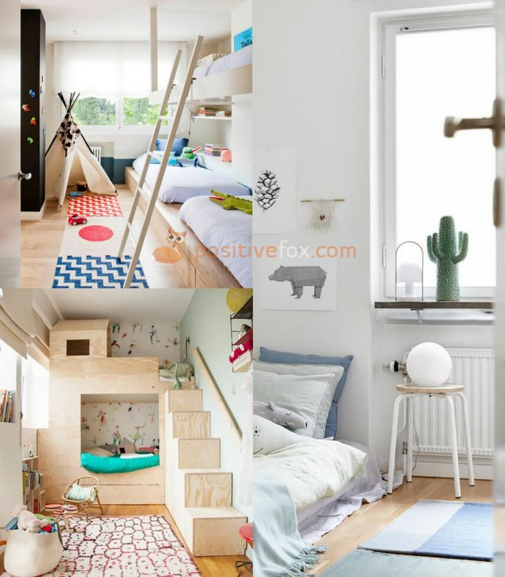 Small Spaces Scandinavian Kids Rooms. Nordic Design Ideas With Best Examples. Explore more Scandinavian Kids Rooms on https://positivefox.com #smallspaceskidsrooms #scandinaviankidsroom #kidsroomideas #scandinaviankidsroomideas #interiordesign #collage #homeideas #homesmallspaces #smallspaces #nordicdesignideas #nordickidsroom #nordicinterior