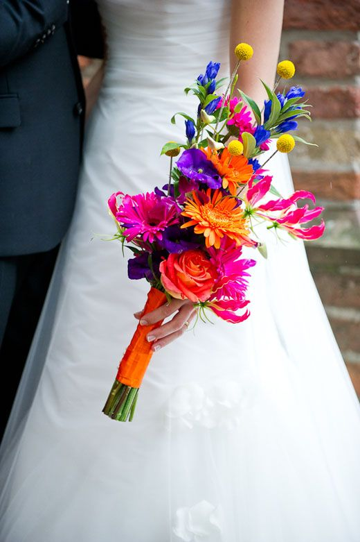 Dots & Stripes – Colorful Wedding Photography - Pinterested @ http://wedspiration.com.