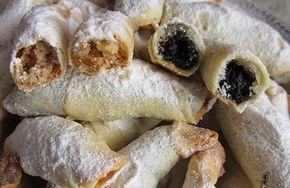 Обалденные рогалики — тончайшее, хрустящее тесто и много сладкой вкусной начинки!