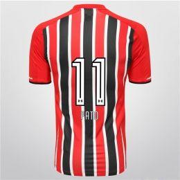 Sao Paulo FC 2015-16 Season Away Pato #11 Jersey [PF1206044545]