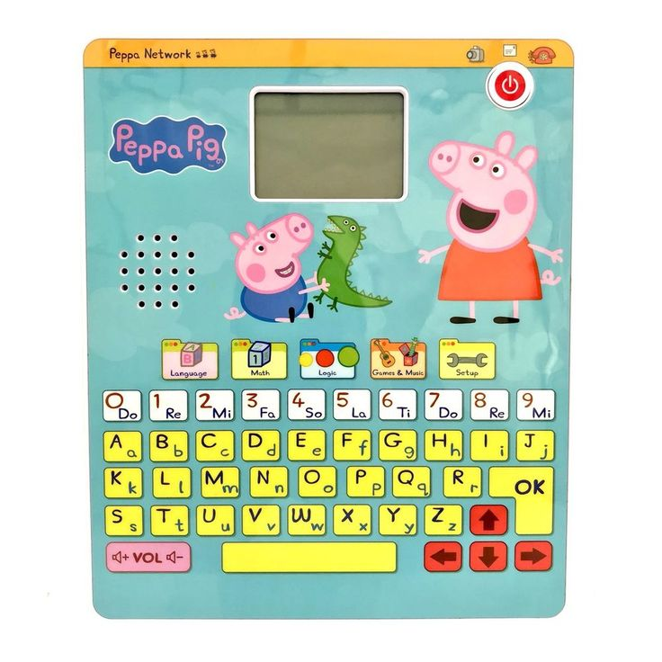 Peppa Pig Smart Tablet by Inspiration Works Computer Laptop Electronic Toy Learn