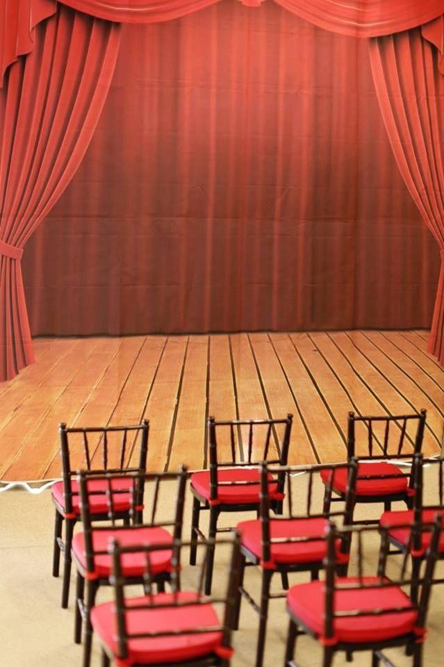 magic show stage www.spaceshipsandlaserbeams.com                                                                                                                                                     More