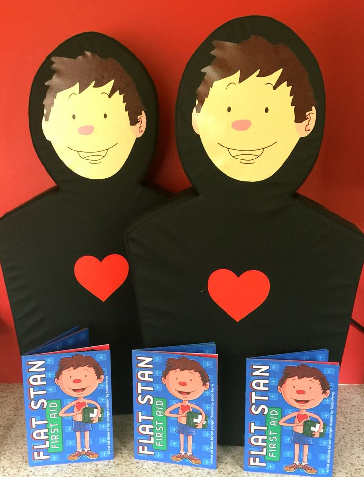 Flat Stan - First Aid for children courses now being run by FlexiMed Training - psst we are the only provider in Norfolk ;-)