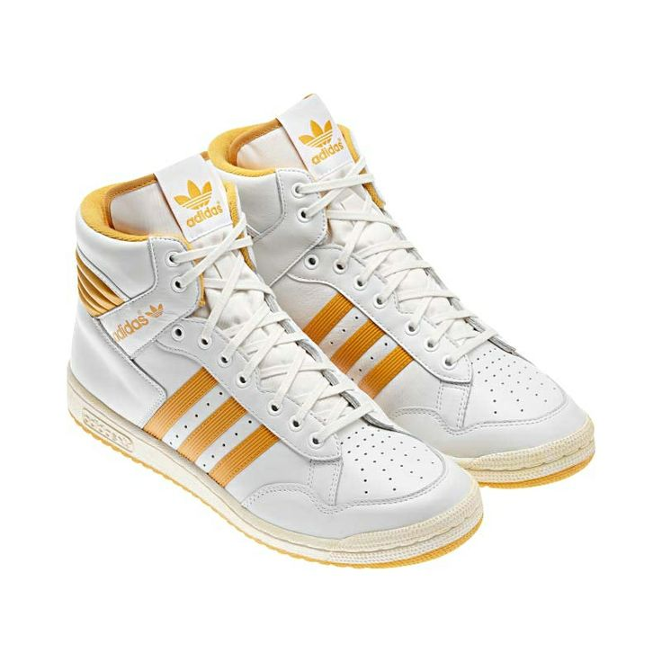 Pro Conference Hi Shoes, Neo White / Legacy / St Goldenrod