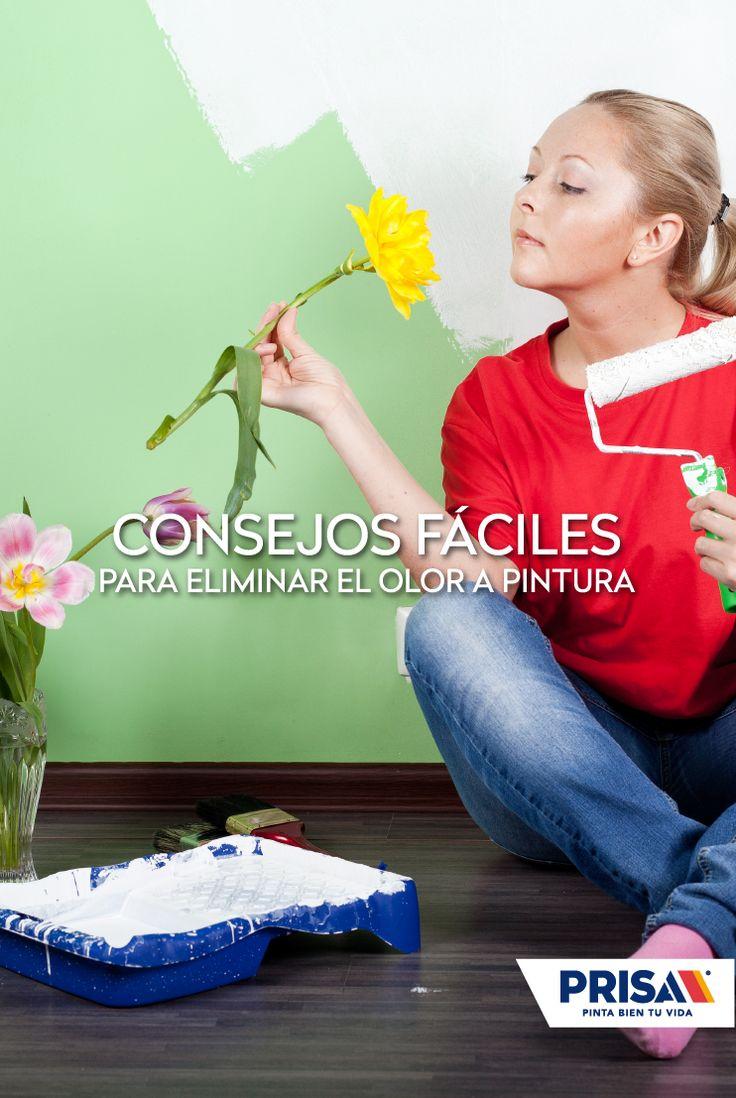Consejos f ciles para eliminar el olor a pintura olor - Eliminar olor tabaco paredes ...