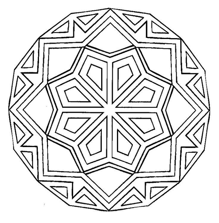 Mandala's. Art therapy