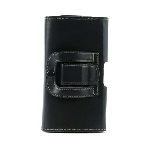 Phone Cases Ultra Black Holster PU Leather Case Cover For Samsung Galaxy S5 i9600