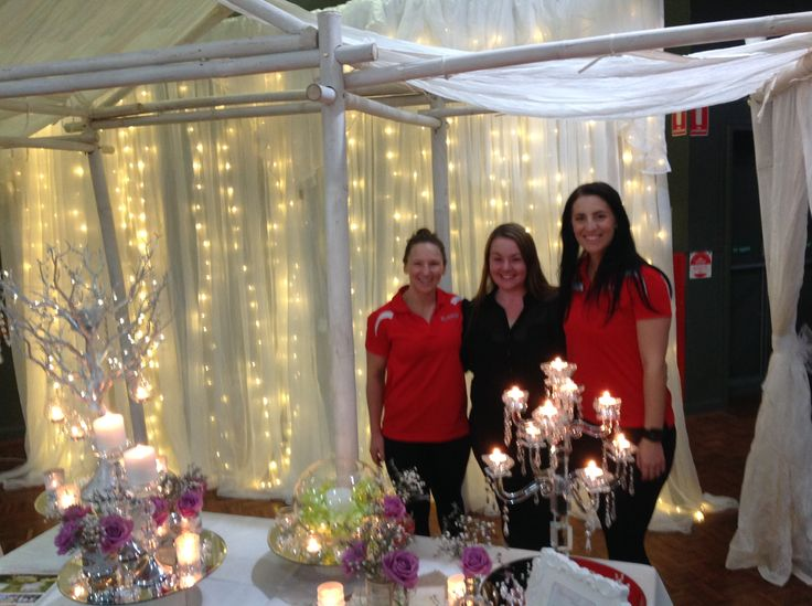 PT Mia Vines and PT Alev Basin at The Wedding Expo with Beautiful Weddings Melbourne https://www.facebook.com/pages/Genesis-Mentone/217235454975217