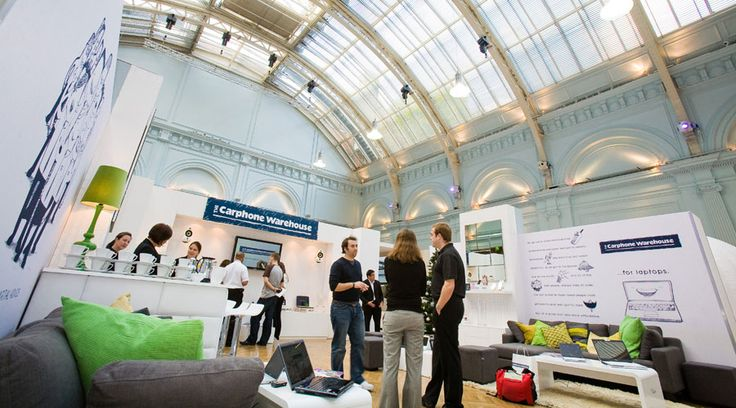 Carphone Warehouse exhibition at the Lindley Hall