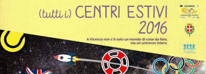 Centri Estivi Vicenza 2016 // art direction