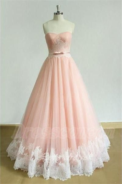 2016 Strapless Long Lace Prom Dresses,Back Up Lace Pink Prom Dress For Teens http://www.luulla.com/product/588919/2016-strapless-long-lace-prom-dresses-back-up-lace-pink-prom-dress-for-teens