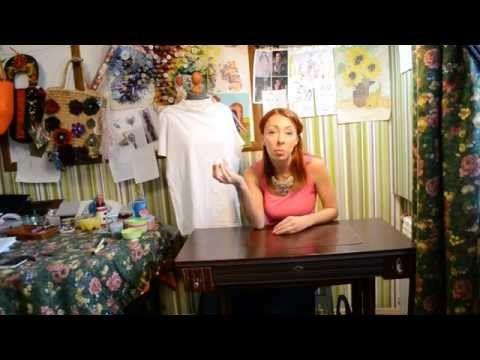 DIY Колье из футболки раскрашенные на Holly. Раздел : Мастер-классы. Все...