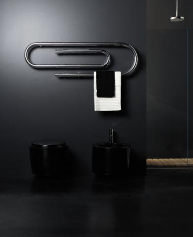 20 best Accessoires salle de bains images on Pinterest Bathroom - porte serviette salle de bain design