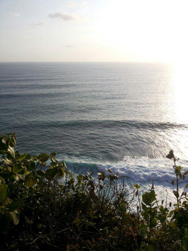 Almost sunset in Uluwatu, Bali