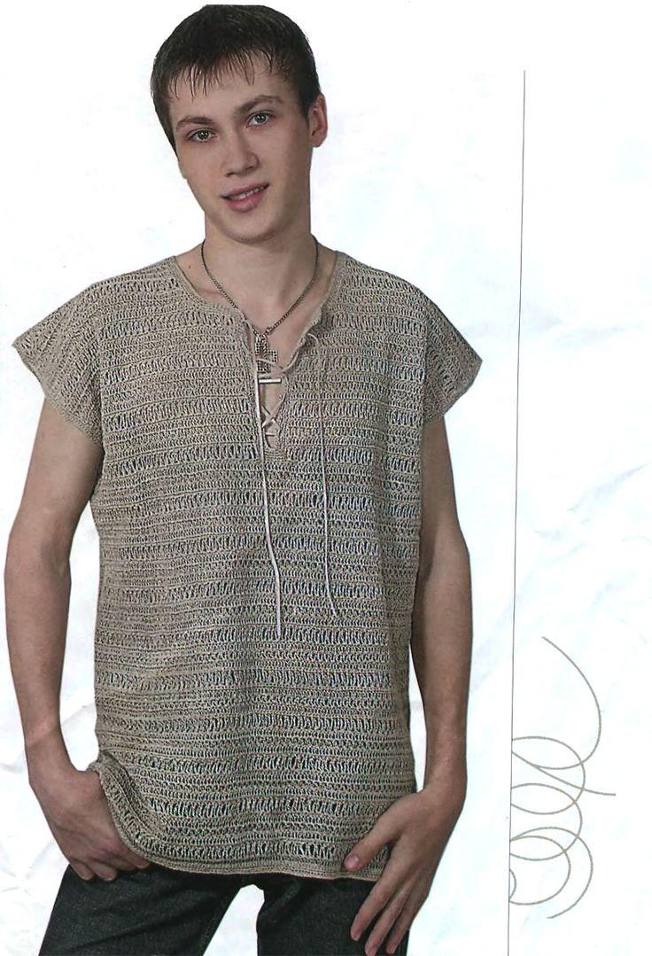 Мужской летний свитерок