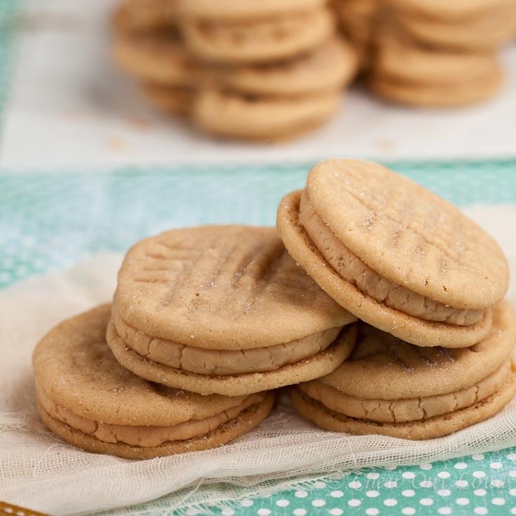 Homemade Nutter Butters - Peanut Butter Sandwich Cookies | Recipe