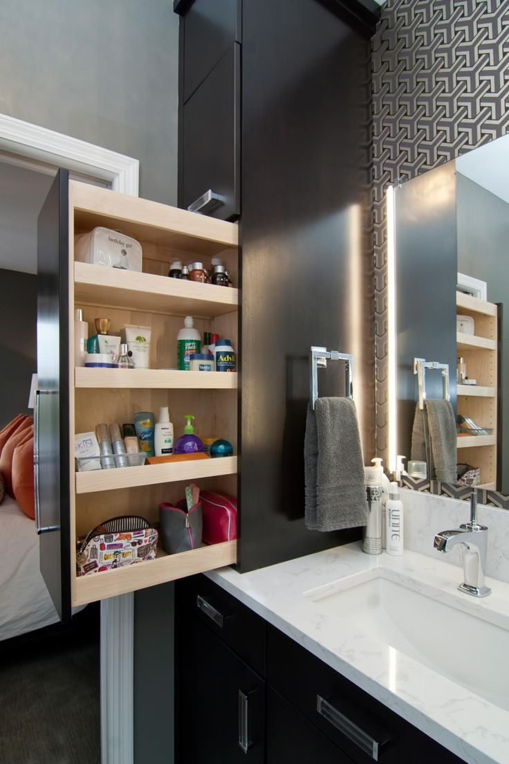 Stauraum Bad Schaffen Ausziehbare Vertikale Schublade Stauraum Bad Schaffen Kleine Badezimmer Design Badezimmer Renovieren Aufbewahrung Fur Kleines Badezimmer