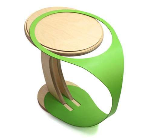 another cool stool: DEDE DextrousDesign's Wedding Stool Marries Wood and Metal (GALLERY)