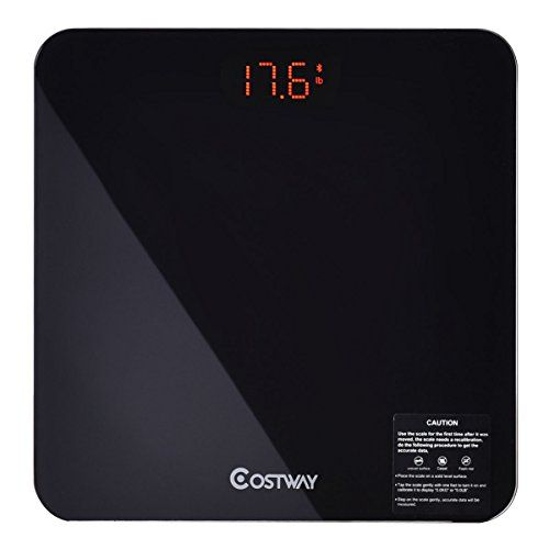 Giantex 400lb LED Bluetooth Digital Smart Body Weight Scale Fat Tracking BMI Analyzer | Body Composition Scales