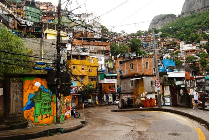 Rocinha Slum - Rio de Janeiro by Larrion Nascimento, via 500px