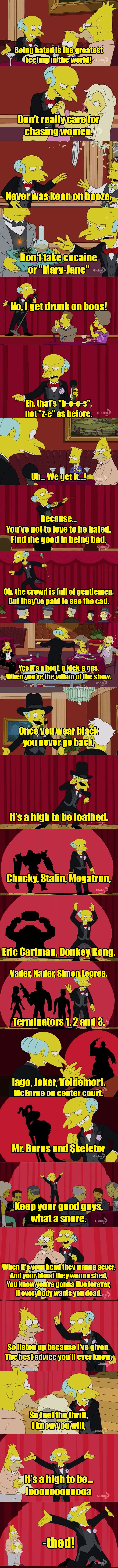 Mr. Burns - High To Be Loathed