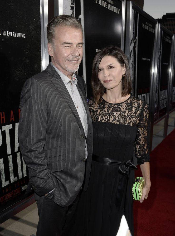 Finola Hughes and Ian Buchanan at Captain Phillips (2013)