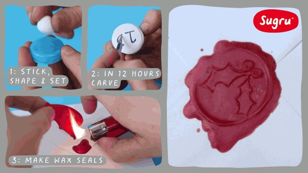Day 11 - Personalise gifts with your very own wax seal!