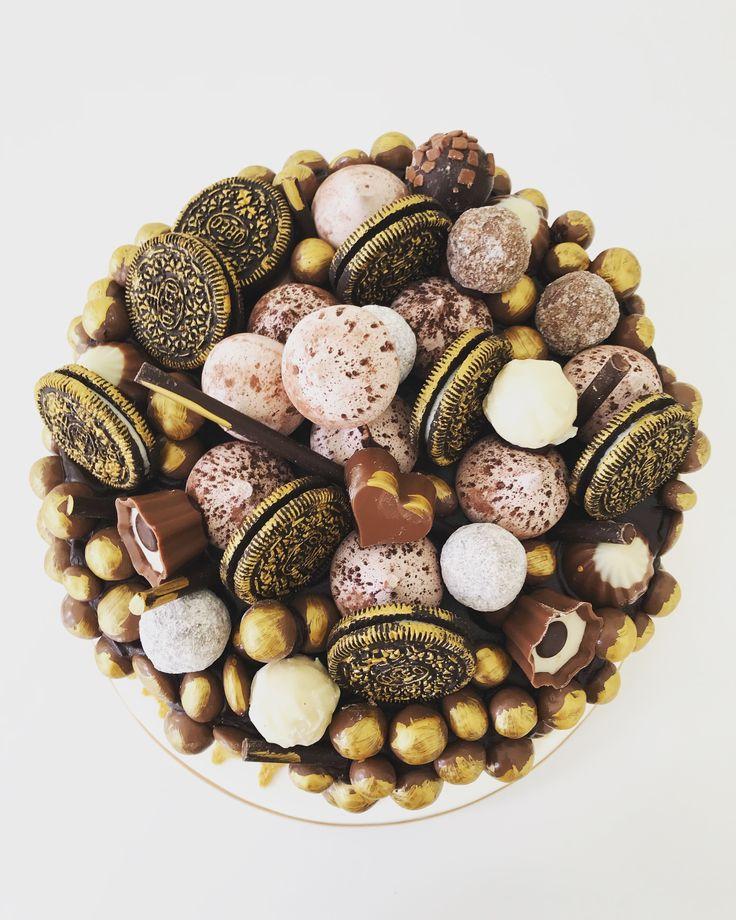 Celebration cake for a chocoholic by Plumtree Bakehouse