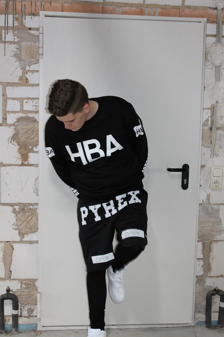 Pyrex X HBA Shorts Sweater Jumper Dope Fashion Streetwear