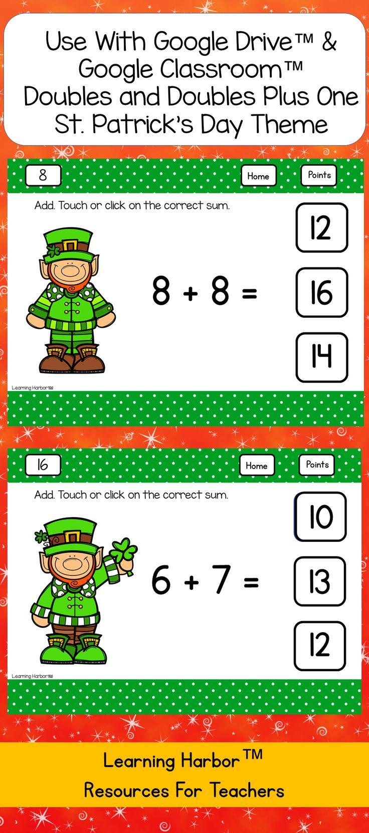Best 3457 St. Patrick's Day Math Ideas ideas on Pinterest ...