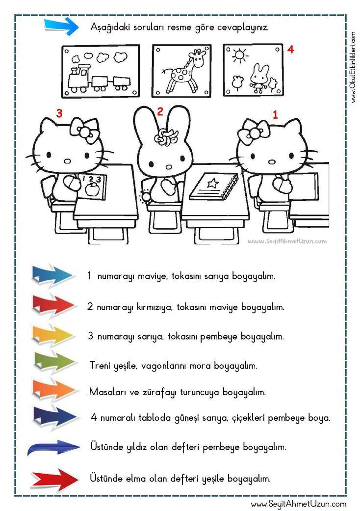 OKUDUĞUNU ANLAMA – Oku – Boya Çalışması 7 DOĞUM GÜNÜ Okuma anlama metni Özgün bir çalışma olarak pdf formatında hazırlanmıştır. Sitede bulunan çalışmaları özgün içerik..