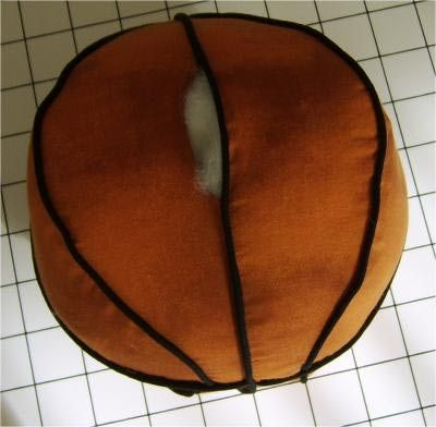 Sew A Fun Basketball Pillow Free Pattern The O Jays And Sew