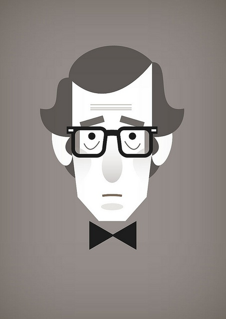 Woody Allen by Stan Chow.