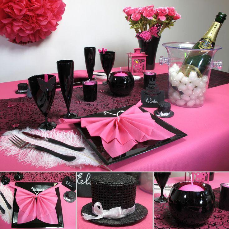 Une table chaleureuse et classe pour un repas entre amoureux ou entre copines