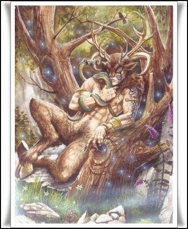 Las Revelaciones del Tarot: Cernnunos - Dios de La Mitologia Celta -