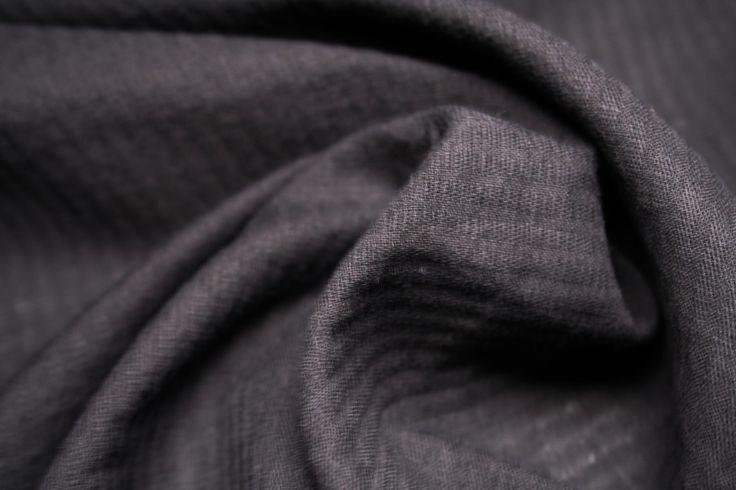 Tessuti di cotone vintage, color acido, stretch, alta vestibilità colore nero trasparente di UMEfabrics su Etsy