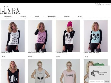 Tienda online de la marca Güera