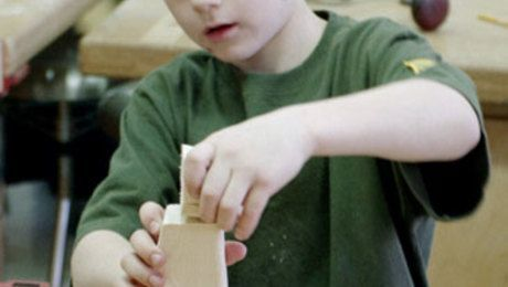 Kid's Woodworking Project: A T-rex Figure - FineWoodworking