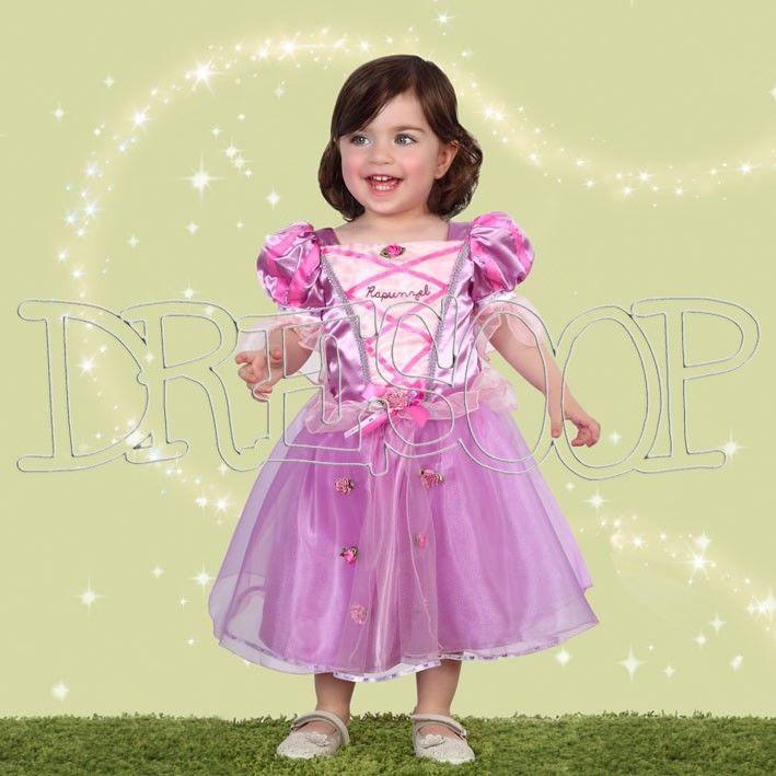 Costume Rapunzel per neonato - Dresoop.it