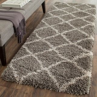 Shop for Safavieh Belize Shag Grey/ Taupe Rug (2'3 x 7'). Get free shipping at Overstock.com - Your Online Home Decor Outlet Store! Get 5�0in rewards with Club O!