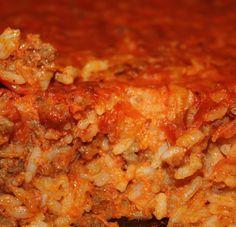 Baked Maltese rice