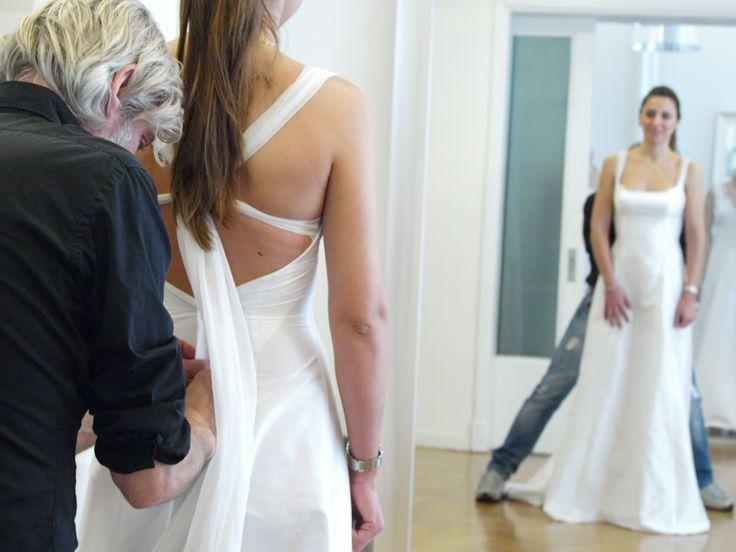Atelier & Wedding Concept Store Konstantinos Tsigaros Hand made bridal dresses.