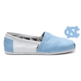 Unc toms! - I am not a TOMS fan...but I would rock the hell out of these just because they got UNC on them!!