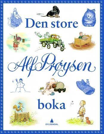 Den store Alf Prøysen boka (Innbundet)