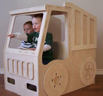Dump Truck Toy Box