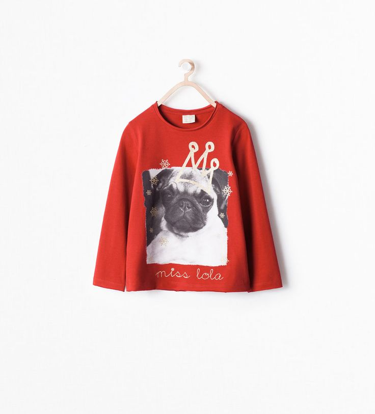 Image 1 of ANIMALS T-SHIRT from Zara