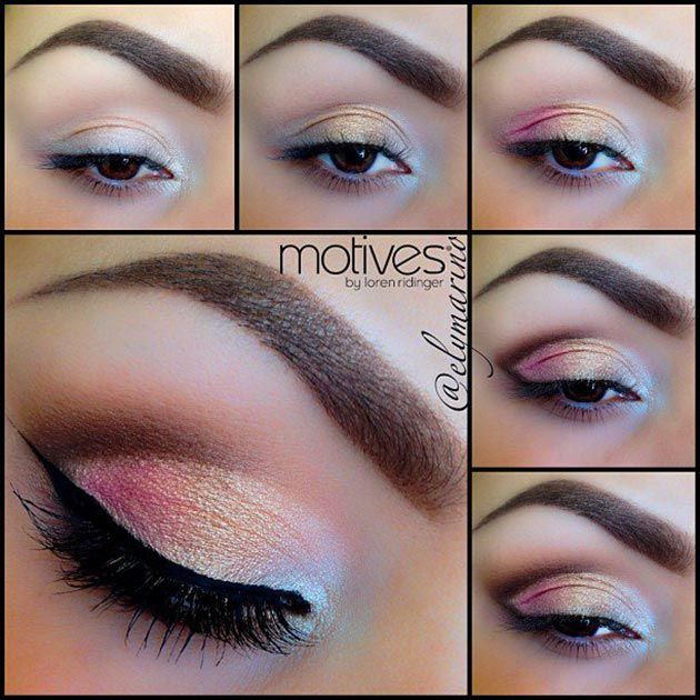 Excellently done mermaid like brown eyes. #eyemakeup #eyes #womentriangle