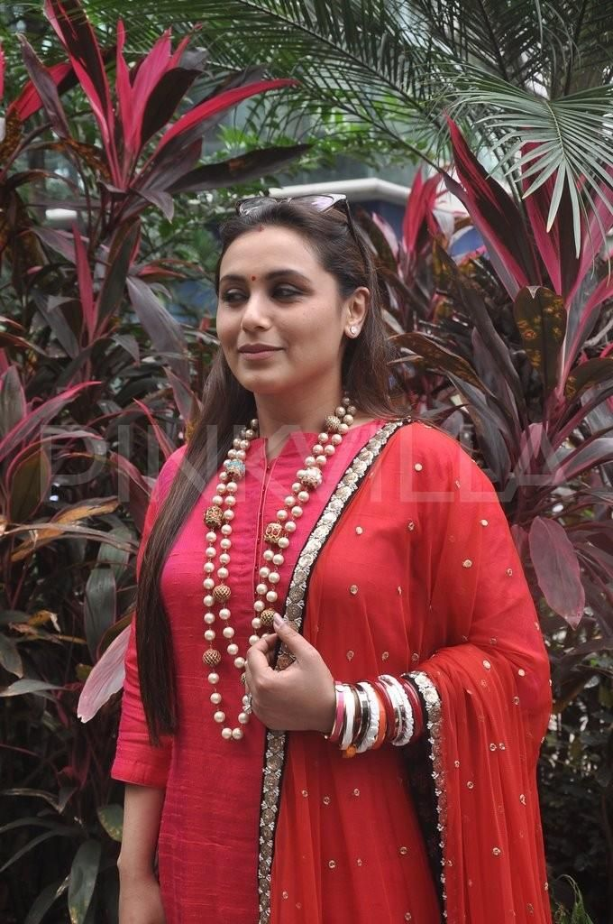 Rani Mukerji celebrates Ganpati! | PINKVILLA